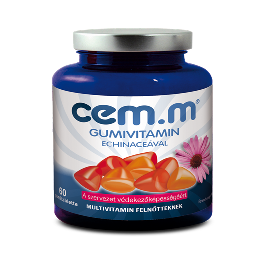 CEM.M Gumivitamin Echinaceával